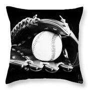 Out To The Ball Park Throw Pillow