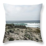 Out To The Water Throw Pillow