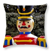 Outdoor Toy Soldier Throw Pillow