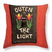 Outen The Light Throw Pillow