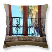 Outer Reflection Throw Pillow