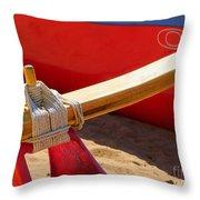 Outrigger Rigging - 2 Throw Pillow