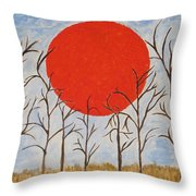 Outset Sunset Throw Pillow