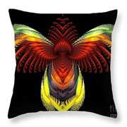 Outstreched Wings Throw Pillow