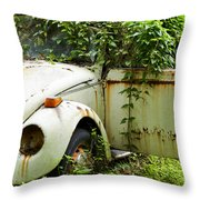 Outta Here Throw Pillow