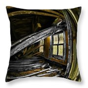 Over Aged Throw Pillow