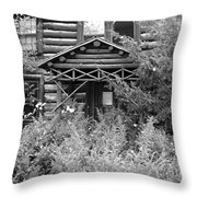 Over Grown And Forgotten Throw Pillow