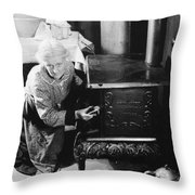 Over The Hill, 1920 Throw Pillow