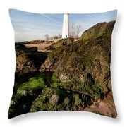 Over The Jetty Throw Pillow