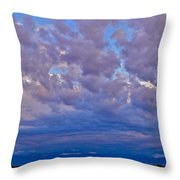Over The Palisades Range Throw Pillow