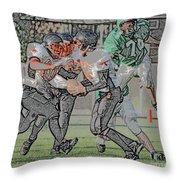 Over The Top Digital Art Throw Pillow