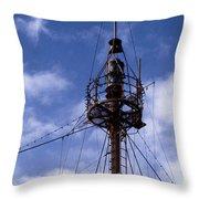 Overfalls Light Station Throw Pillow