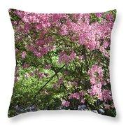 Overgrown Natural Beauty Throw Pillow