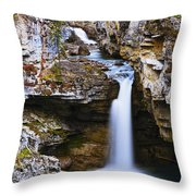 Overview Of Icefields Parkway, Beauty Throw Pillow