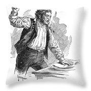 Owen Lovejoy (1811-1864) Throw Pillow