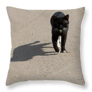 Owner Throw Pillow
