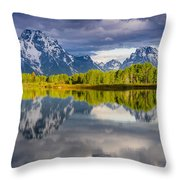 Oxbow Light Throw Pillow