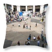 Oxford Circus Throw Pillow