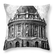 Oxford: Radcliffe Library Throw Pillow