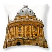 Oxford University Throw Pillow