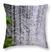 Ozark Waterfall Throw Pillow