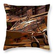 P-35 Throw Pillow