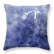 Pacific Bloom Throw Pillow