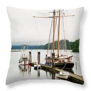 Pacific Grace Throw Pillow