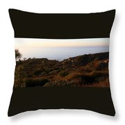 Pacific Vista Throw Pillow
