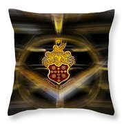 Packard Fantasy Throw Pillow