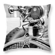 Packard Girl Throw Pillow