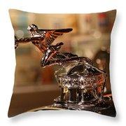Packard Ornament Throw Pillow
