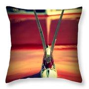Packard Swan 3 Throw Pillow