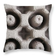 Packing Material Throw Pillow