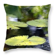 Padded Ripplies Throw Pillow