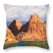 Padre Bay Lake Powell Throw Pillow