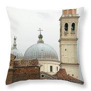 Padua Domes Padua Italy Throw Pillow
