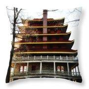 Pagoda Reading Pa. Throw Pillow