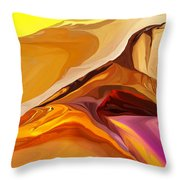 Painted Desert 012612 Throw Pillow