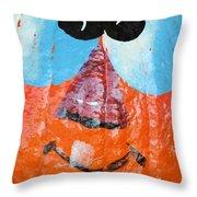 Painted Pumpkin 1 Throw Pillow