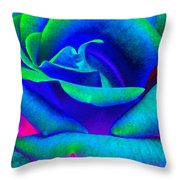 Painted Rose 2 Throw Pillow