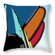 Painting By Numbers  Throw Pillow