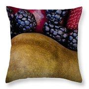 Pair Or Pear Throw Pillow