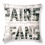 Pairs Fans Throw Pillow