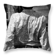 Paisley Shirt Throw Pillow