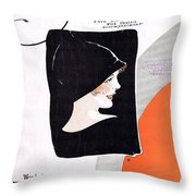 Pal Of My Lonesome Hours Throw Pillow