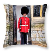 Palace Guard Throw Pillow