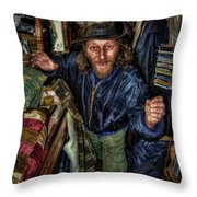 Palace Of Rum Sodomy And The Lash Throw Pillow