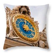 Palace Of Versailles France Throw Pillow