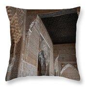 Palace Stonework Throw Pillow